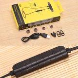 BH-M9 In-Ear handsfree draadloze Bluetooth 4.1 Sport oordopjes mic - Zwart Rood_