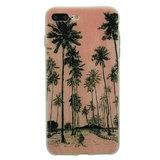 Tinystories Handgeschilderde palmbomen illustratie hoesje iPhone 7 Plus 8 Plus - Palm Case_