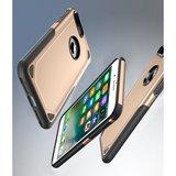 Pro Armor Gold beschermend hoesje iPhone 7 Plus 8 Plus - Goud Case_