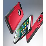Pro Armor Red beschermend hoesje iPhone 7 Plus 8 Plus - Rood Case_