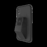 Adidas Grip iPhone X XS hoesje met band - Zwart_