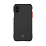 Adidas Solo Case FW17 iPhone X XS hoesje - Zwart Rood_