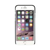 Xqisit iPlate Glossy iPhone 6 Plus 6s Plus 7 Plus 8 Plus hoesje - Zwart_