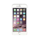 Xqisit iPlate Glossy iPhone 6 Plus 6s Plus 7 Plus 8 Plus Clear hoesje - Doorzichtig_