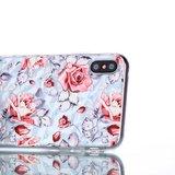 Diamant hoesje TPU iPhone XS Max Case - Rozen_