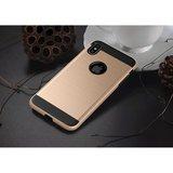 Beschermend Brushed hoesje iPhone XS Max Case - Goud_