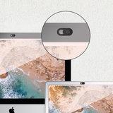 Xqisit Sliding Webcam Cover - Zwart_