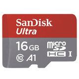 SanDisk 16GB SanDisk Ultra microSD geheugenkaart opslag - Zwart_