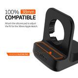 Spigen Night Stand S350 voor Apple Watch 38mm 42mm - Zwart_