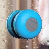 Spatwaterdichte bluetooth douche & bad speaker - Blauw_