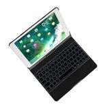 QWERTY Keyboard toetsenbord bluetooth case backlight iPad Pro 10.5 inch & iPad Air 3 (2019)_