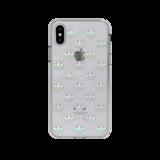 adidas OR Snap Case ENTRY doorzichtig case iPhone X XS hoesje - Kleurrijk_
