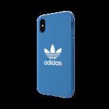 adidas Originals Moulded Case BASIC FW18 case iPhone X XS blauw hoesje_