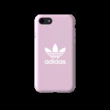 adidas Originals Moulded Case CANVAS FW18 iPhone 6 6s 7 8 SE 2020 roze hoesje_