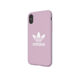 adidas Originals Moulded Case CANVAS FW18 iPhone X XS roze hoesje_