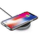Spigen Essential F306W iPhone Draadloze Oplaadpad - 10W Zwart_