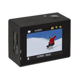 Innelec KX FJ Sportscamera 4K Full HD + accesoires Waterdichte behuizing - Zwart_