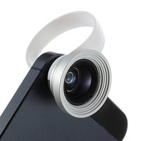 2 in 1 Groothoek Fisheye en Macro Lens met klip Universeel