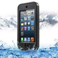 Waterdicht hardcase iPod Touch 5 6 onderwater hoesje - Waterproof case zwart