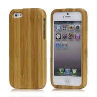 Bamboe houten hoesje iPhone 5 5s SE Hard case hout Wood cover