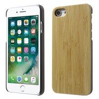 Bamboe cover Handgemaakt iPhone 7 8 houten hoesje Hardcase