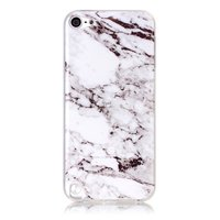 Wit iPod Touch 5 6 marmer TPU hoesje marble case