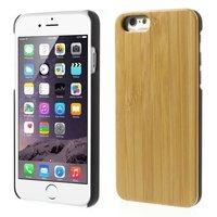 Bamboe houten hardcase iPhone 6 6s cover hoesje echt hout