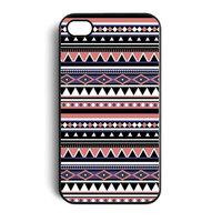 iPhone 4/4s Indianen patroon Aztec Tribal hardcase hoesje case cover