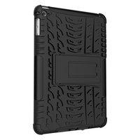 Bandprofiel hoes grip kickstand TPU kunststof iPad mini 4 5 Case - Zwart