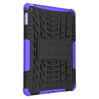 Bandprofiel hoes grip kickstand TPU kunststof iPad mini 4 5 Case - Paars