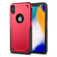 ProArmor protection hoesje bescherming iPhone XS Max case - Rood