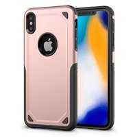 ProArmor protection hoesje bescherming iPhone XS Max case - Rose gold - roze
