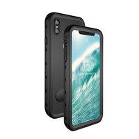 Waterproof IP68 iPhone XS Max case - Zwart Waterdicht