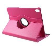 Lederen Litchi Grain iPad Pro 12.9-inch 2018 Hoes Draaibare Case met Cover - Roze