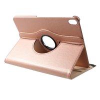 Lederen Litchi Grain hoes draaibaar standaard iPad Pro 11-inch 2018 - Rosé Goud