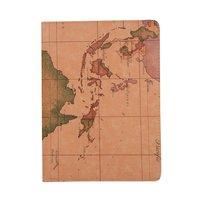 Wereldkaart Opdruk Lederen iPad Pro 11-inch 2018 Case Hoes Draaibaar Standaard - Bruin