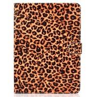Panterprint iPad Pro 11-inch 2018 Case Hoes Lederen Wallet Portemonnee - Bruin Luipaard Patroon