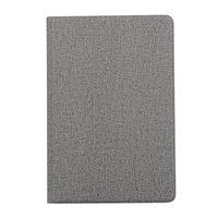 Jeans spijkerstof beschermhoes flipcase TPU iPad mini 4 5 - Grijs