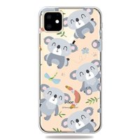 Lief Flexibel Koala Hoesje iPhone 11 TPU case - Doorzichtig