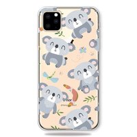 Lief Flexibel Koala Hoesje iPhone 11 Pro Max TPU case - Doorzichtig