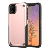 ProArmor protection hoesje bescherming iPhone 11 case - Rose gold - roze