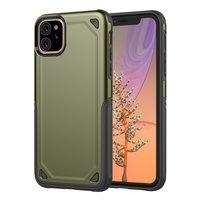 ProArmor protection hoesje bescherming iPhone 11 case - Groen army