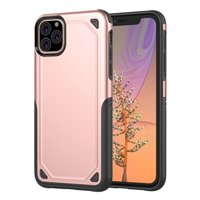 ProArmor protection hoesje bescherming iPhone 11 Pro Max case - Rose gold - roze