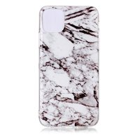Marmer Patroon Natuursteen Wit Hoesje Case iPhone 11 Pro Max