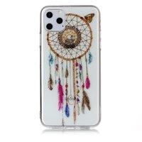 Dromenvanger Mandala Web Kraaltjes Kleur Spiritueel Hoesje Case TPU iPhone 11 Pro Max - Transparant