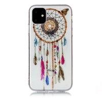 Dromenvanger Mandala Web Kraaltjes Kleur Spiritueel Hoesje Case TPU iPhone 11 - Transparant