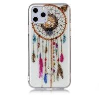 Dromenvanger Mandala Web Kraaltjes Kleur Spiritueel Hoesje Case TPU iPhone 11 Pro - Transparant