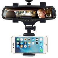 Universeel Houder met Klem aan Binnenspiegel Car Auto iPhone Smartphones