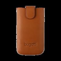 Bugatti York sleeve universeel hoesje insteekhoes riem - Cognac