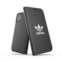 adidas Booklet Case flipcover iPhone 11 - Zwart
